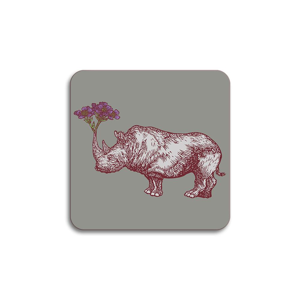 Avenida Home Rhino Coaster Grey