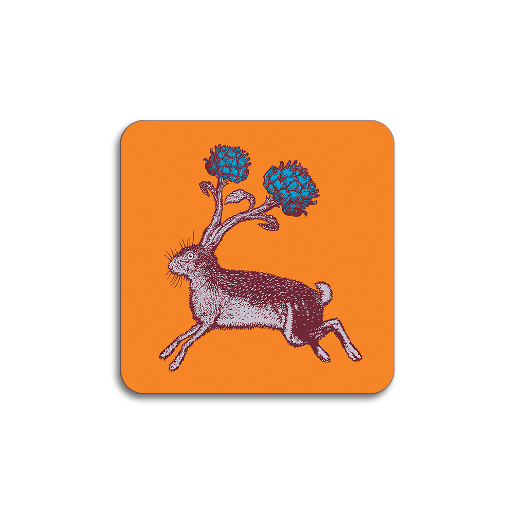 Avenida Home Hare Coaster Orange