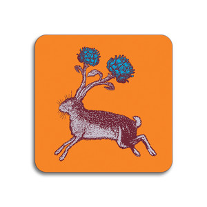 Hare Coaster Orange