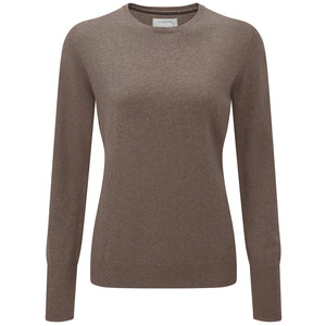 Cotton Cashmere Crew Mink
