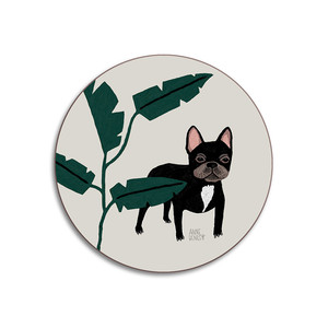 Dogs French Bulldog Coaster Stone