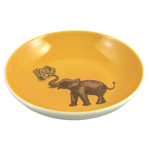 Elephant Mini Plate Yellow