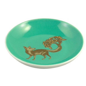 Fox Mini Plate Sea Green