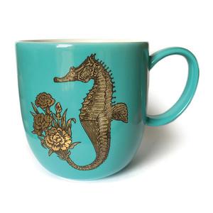 Seahorse Mug Light Blue