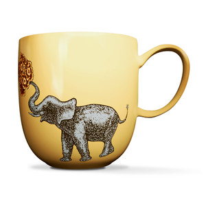 Elephant Mug Yellow