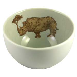Rhino Bowl Warm Grey