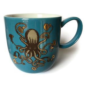 Octopus Mug Turquoise