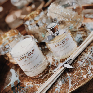 Diffuser/Candle Set Smokey Quartz/Coco Fig