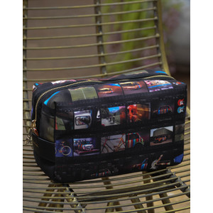 Film Strip Washbag Multicolour