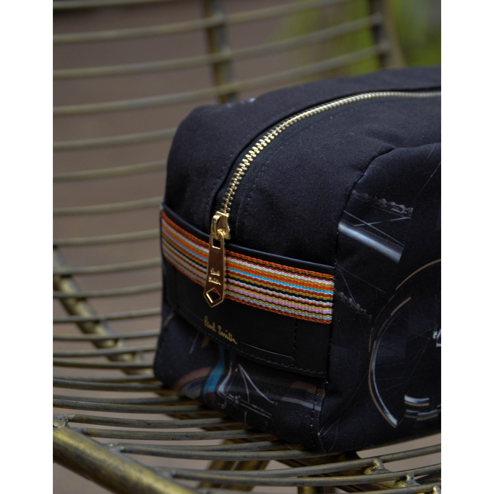 Paul Smith Accessories Bike Wash Bag Black