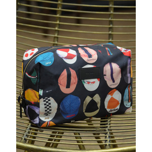 Cycling Caps Washbag Black/Multi