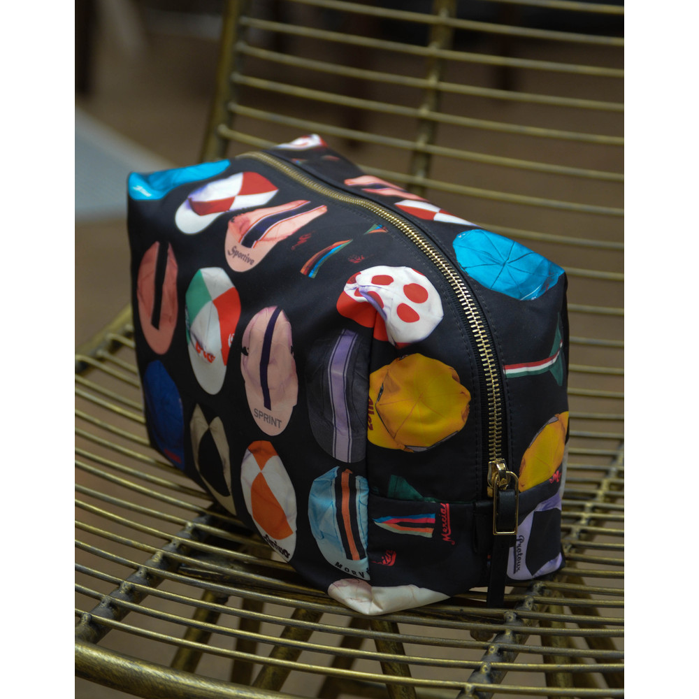 Paul Smith Accessories Cycling Caps Washbag Black/Multi