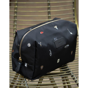 Cufflinks Wash Bag Black/Multi