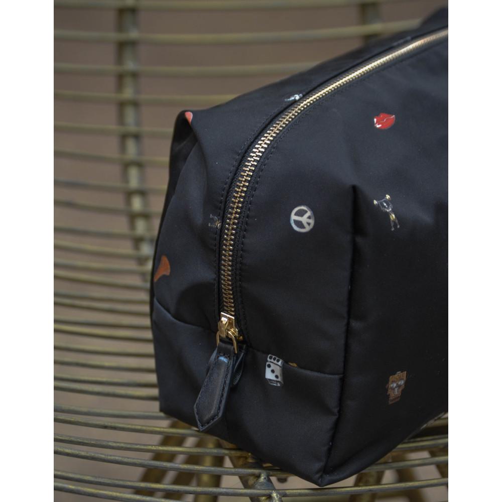 Paul Smith Accessories Cufflinks Wash Bag Black/Multi