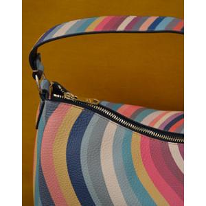 Paul Smith Accessories Zip Swirl Hobo Bag Multicolour