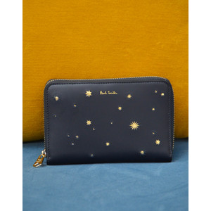 Stars Med Purse Navy/Gold