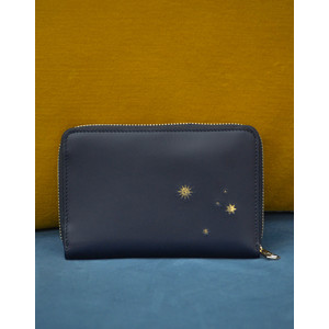 Paul Smith Accessories Stars Med Purse Navy/Gold