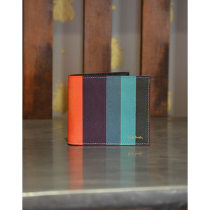 Artist Stripe Billfold Multicolour