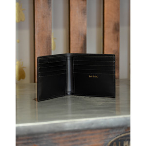 Paul Smith Accessories Cufflink Print Billfold Black