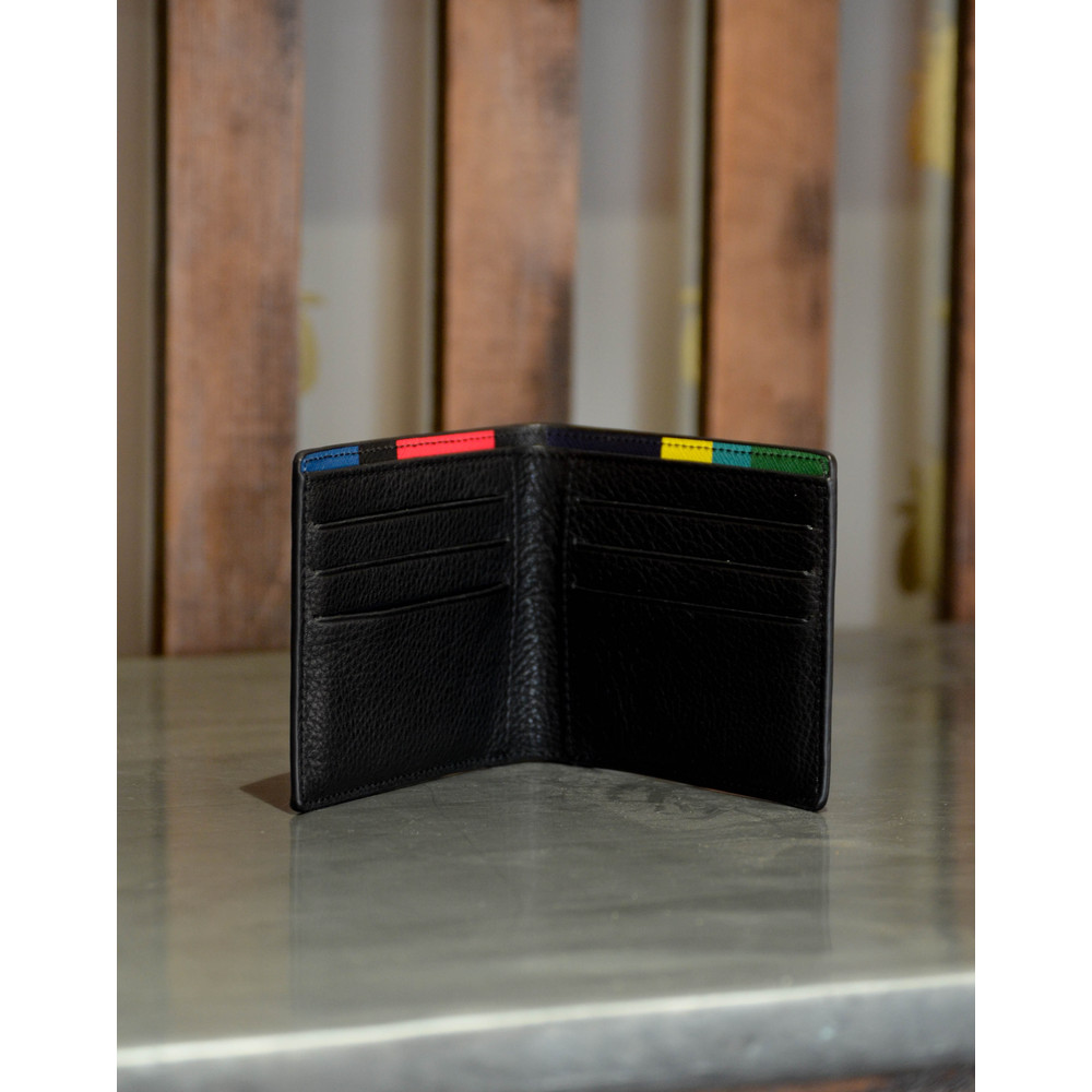 Paul Smith Accessories Stripe Billfold Black