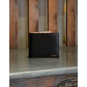 Paul Smith Accessories Paint Pots Billfold Black