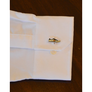 Trainer Cufflinks White/Multi