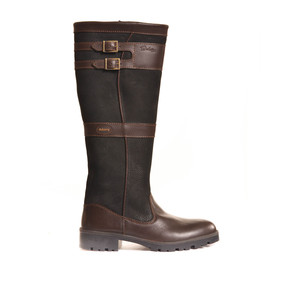 Longford Boot Black/Brown