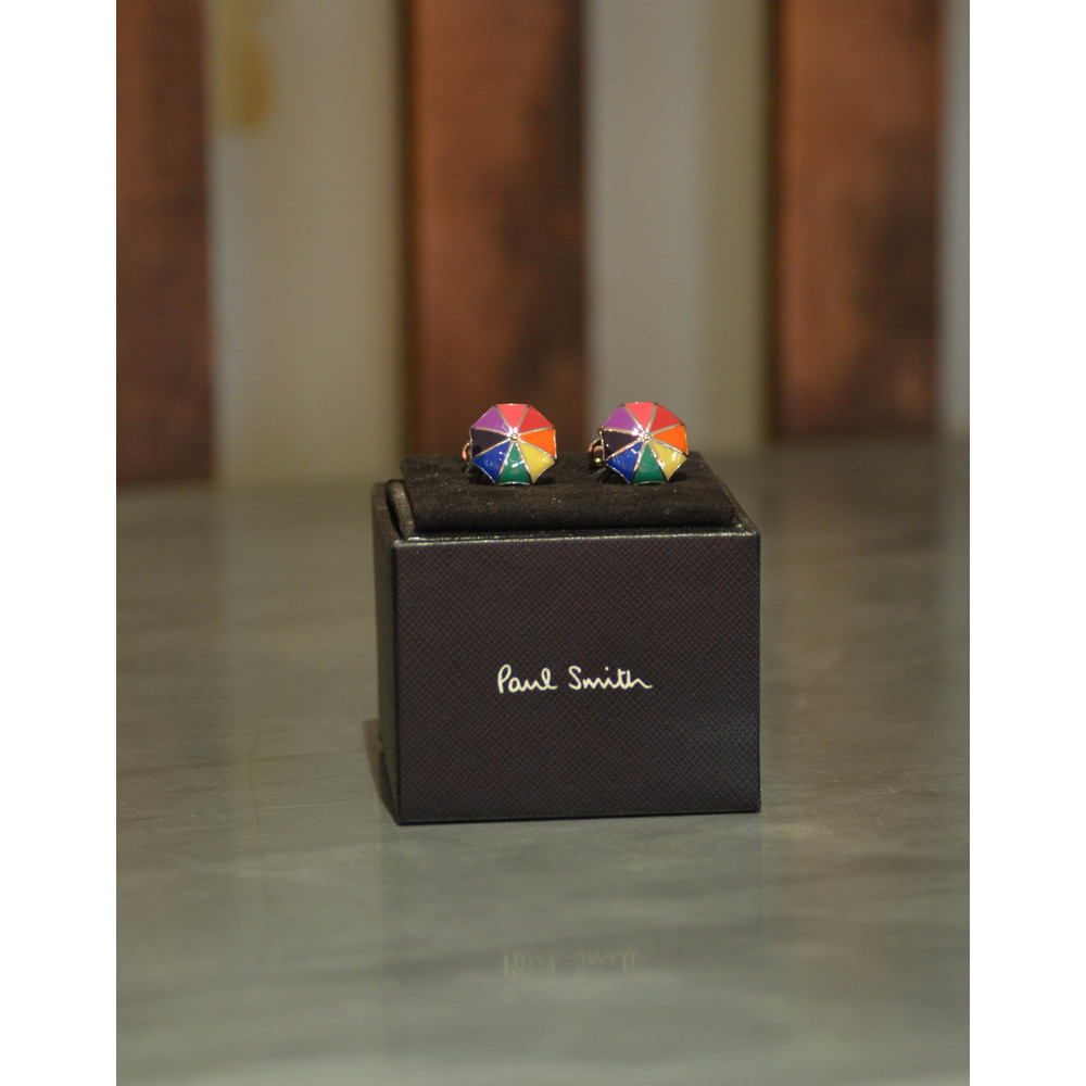 Paul Smith Accessories Umbrella Cufflinks Multi