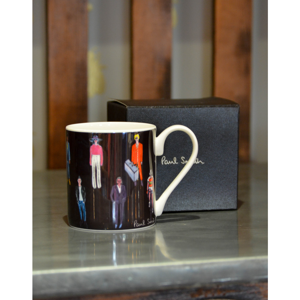 Paul Smith Accessories People Mug Black