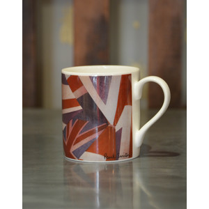 Paul Smith Accessories Union Jack Mug 100% Bone China Red/White/Blue