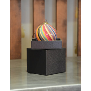Swirl/Stripe Bauble Multi
