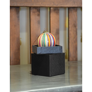 Stripe Bauble Multi