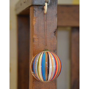 Paul Smith Accessories Stripe Bauble Multi