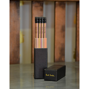 Stripe Pencils Set Box of 12 Multi