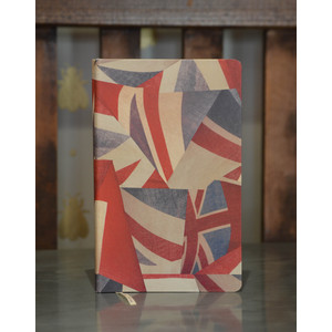 Union Jack Notebook Red/White/Blue