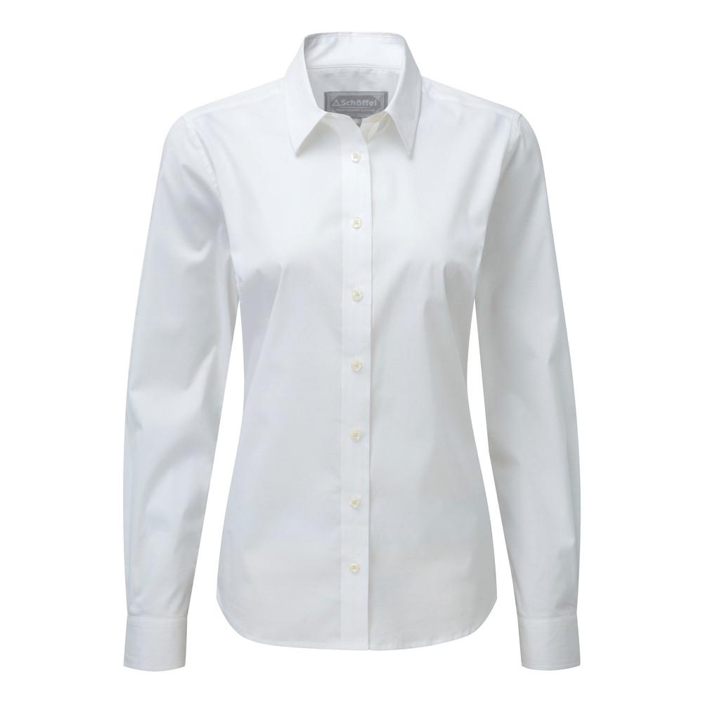 Schoffel Country Suffolk Shirt White
