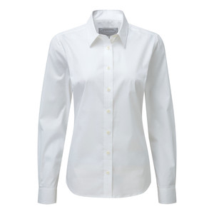 Schoffel Country Suffolk Shirt in White
