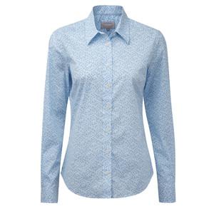 Schoffel Country Suffolk Shirt in Blue Floral