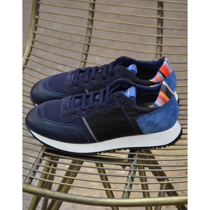 Bold Trainer Leather/Suede Navy