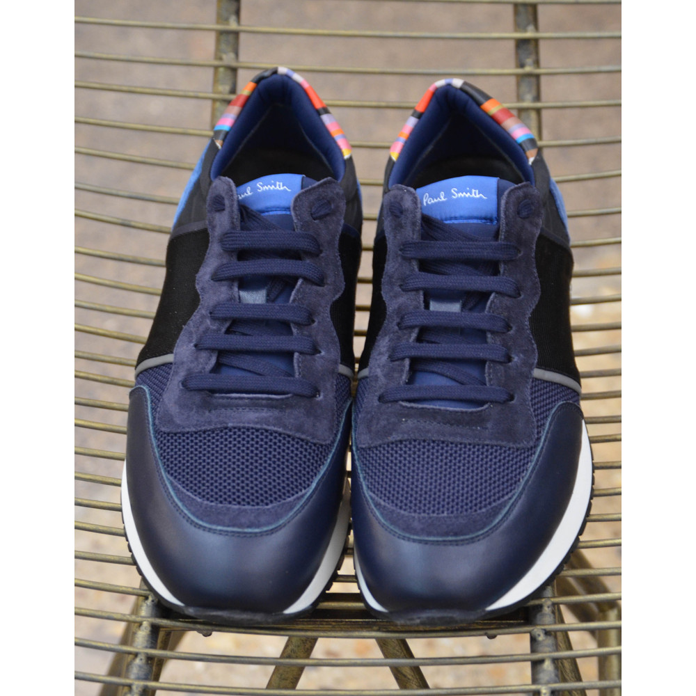 Paul Smith Shoes Bold Trainer Leather/Suede Navy