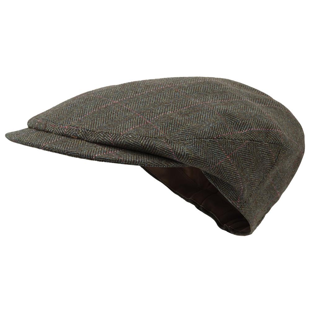 Schoffel Country Tweed Cap Cavell Tweed
