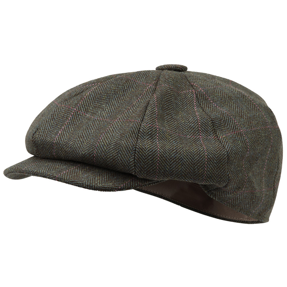 Schoffel Country Ladies Newsboy Cap Cavell Tweed