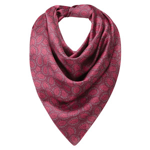 Schoffel Country Silk Scarf in Raspberry