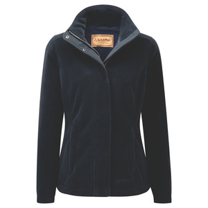 Schoffel Country Melton Fleece in Navy