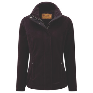 Melton Fleece Aubergine