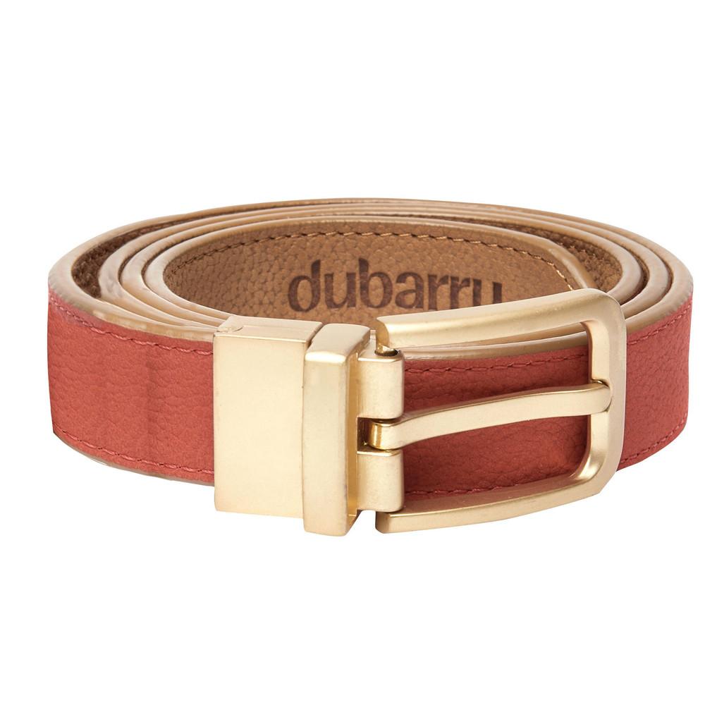 Dubarry Foynes Leather Belt Reversible Tan