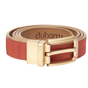 Foynes Leather Belt Reversible Tan