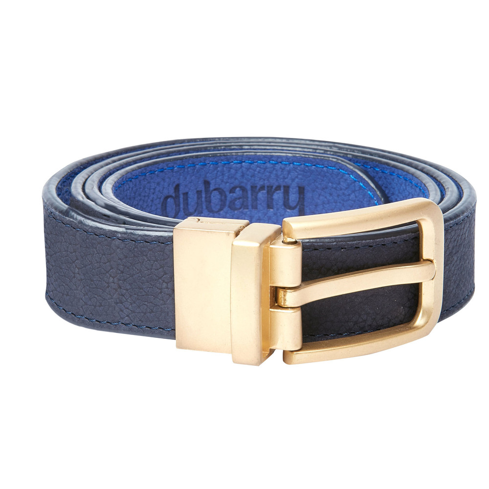 Dubarry Foynes Leather Belt Reversible Navy