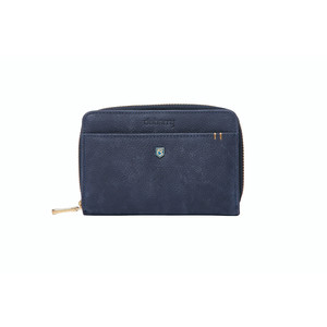 Portrush Leather Wallet Navy