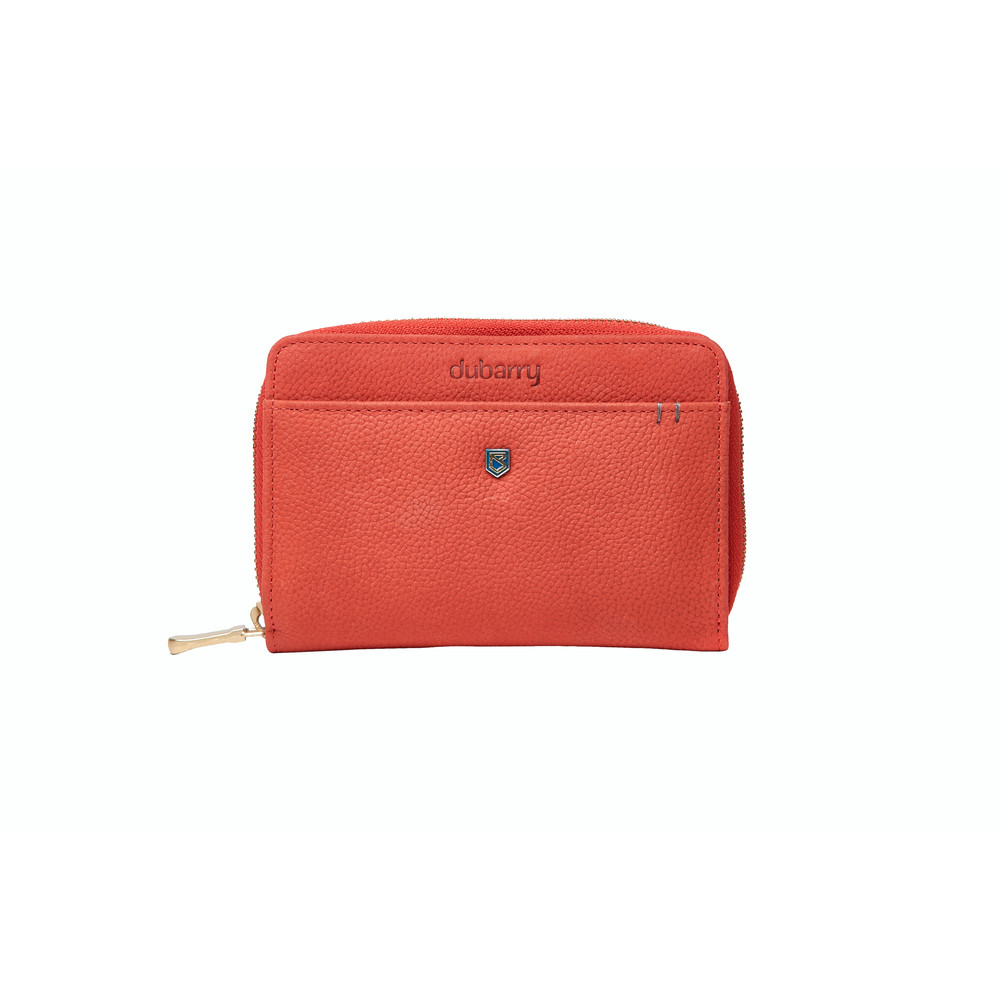 Dubarry Portrush Leather Wallet Coral